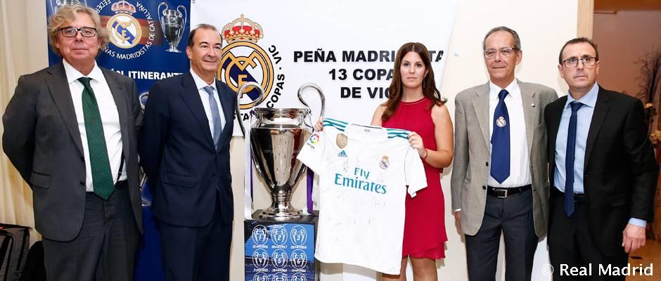 Las 13 Copas de Vic La Peña Madridista Las 13 Copas de Vic celebró su 50º aniversario