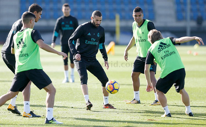 El Real Madrid comenzó a preparar el partido ante el Girona