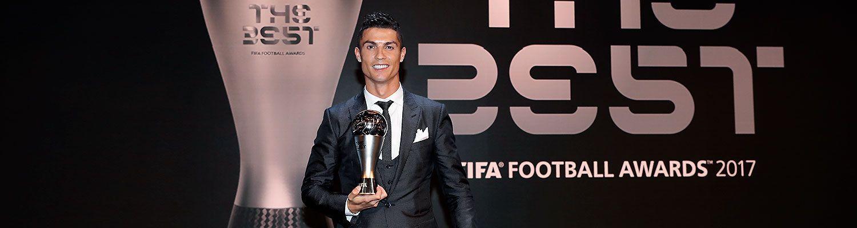 Cristiano Ronaldo, Premio The Best al Jugador de la FIFA 2017