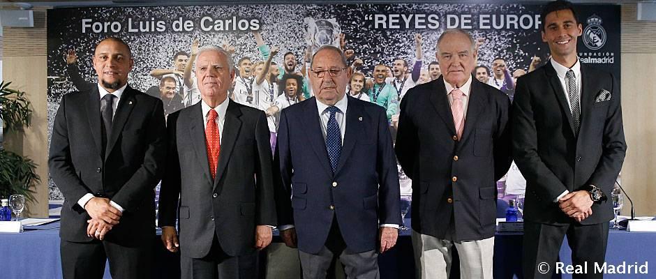 Las doce Copas de Europa, protagonistas en el Foro Luis de Carlos