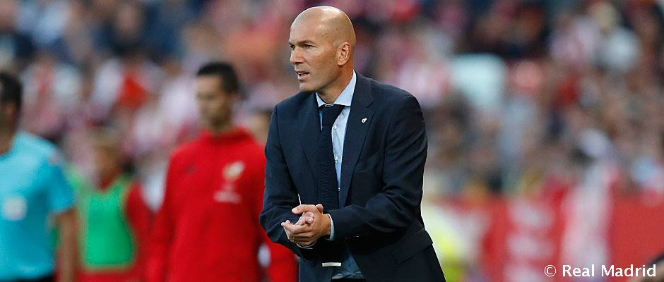 """Girona – Real Madrid Zidane: """"Sabemos que esto lo podemos levantar"""""""