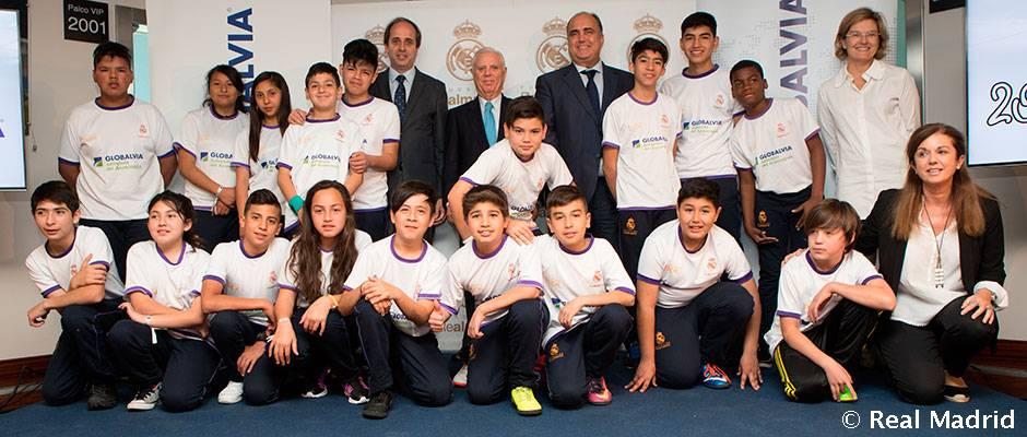 La Fundación Real Madrid y Globalvia renuevan su acuerdo de colaboración