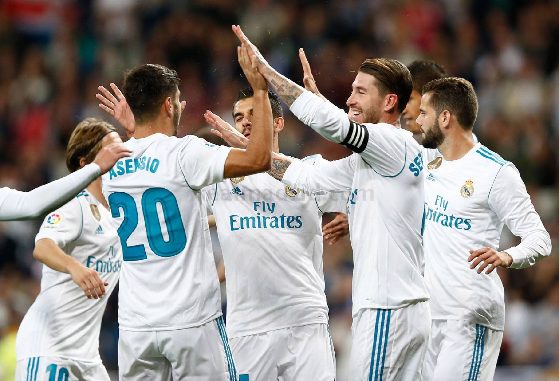 El Bernabéu deja de sufrir