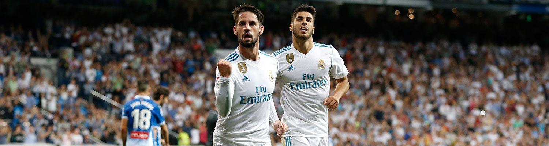 Isco estrena el Bernabéu en Liga
