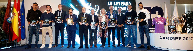 La Fundación presentó el libro 'La leyenda continúa. La Duodécima, reyes de Europa'