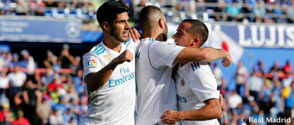 El Real Madrid bate el récord de victorias seguidas a domicilio en la Liga