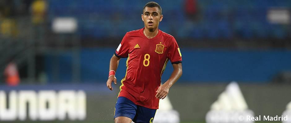 Cinco juveniles madridistas subcampeones del Mundial sub-17 con España