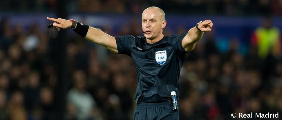 Szymon Marciniak arbitrará el Real Madrid-Tottenham