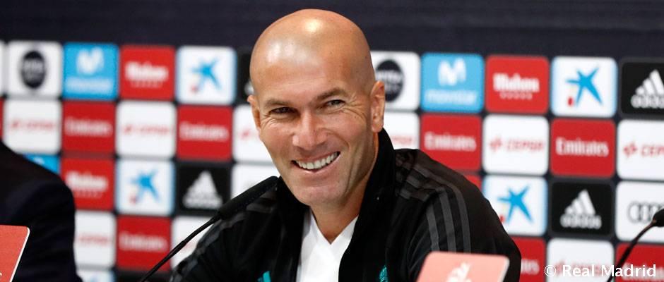 """Zidane: """"Tenemos que jugar los 90 minutos del derbi a tope"""""""