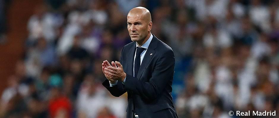 Zidane, el técnico madridista con los mejores números como visitante en Liga