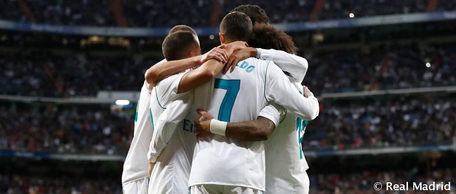 El calendario del Real Madrid en el último mes de 2017