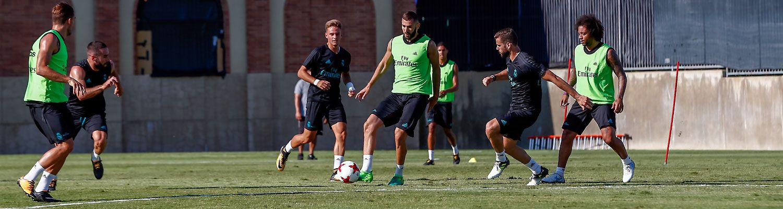 El Real Madrid comenzó a preparar el partido de Copa ante el Fuenlabrada