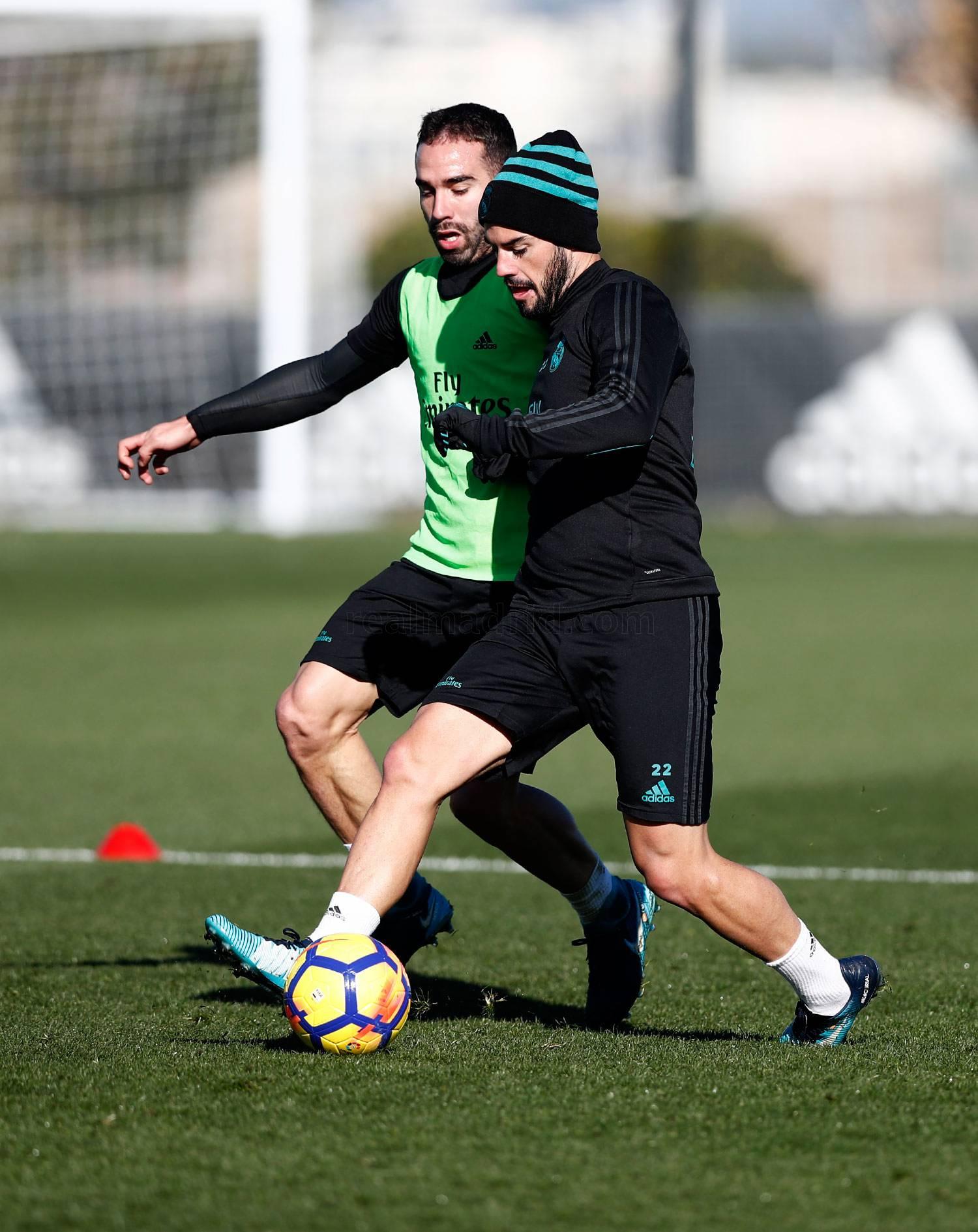 El Real Madrid comenzó a preparar el partido ante el Athletic