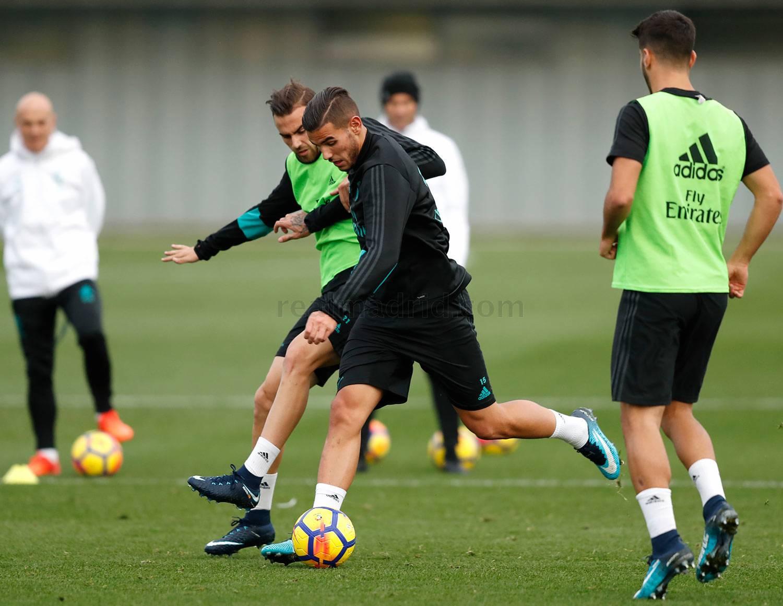 El Real Madrid con la mente puesta en La Liga