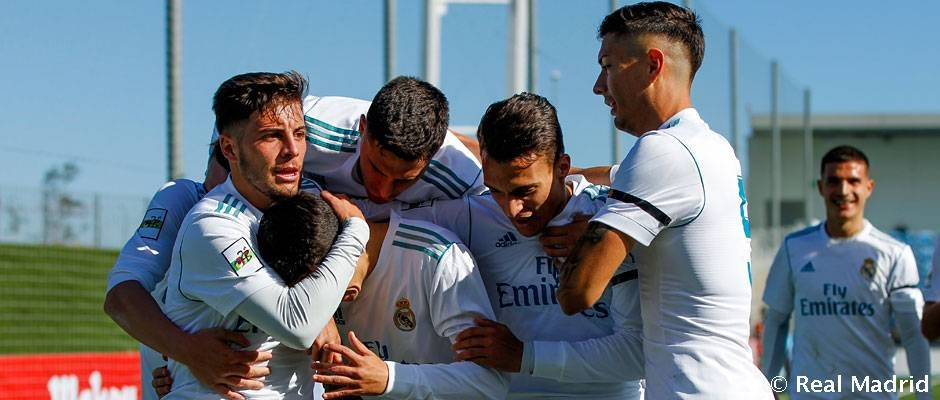 El RM Castilla logra su tercera victoria consecutiva