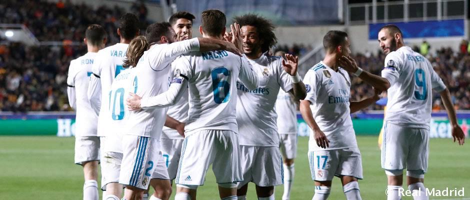 El Real Madrid ha superado las 26 Fases de Grupos que ha disputado
