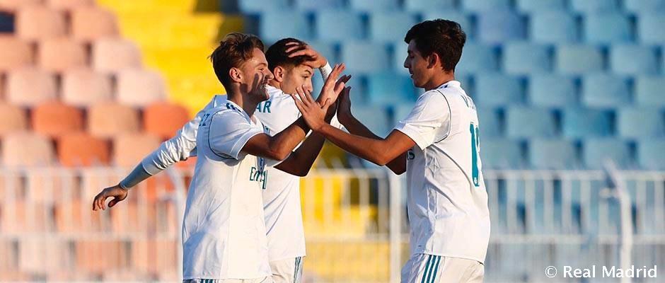 Triunfo del Juvenil A en la UEFA Youth League