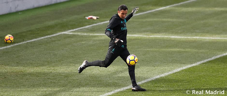 La plantilla comenzó a preparar el partido de Liga ante el Málaga