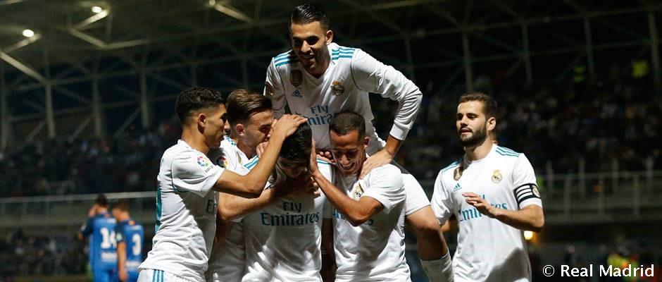 Los Octavos esperan al Madrid