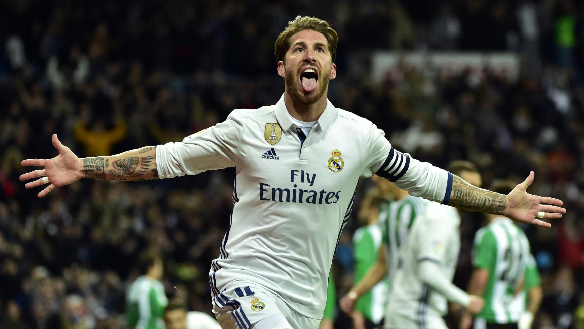 Sergio Ramos, el mejor pasador de la Liga
