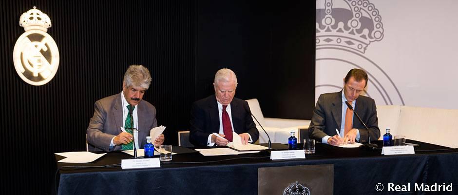 La Fundación y Royal Charity Organization renovaron su convenio de colaboración