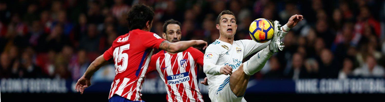 El Real Madrid se parte la cara en el Metropolitano