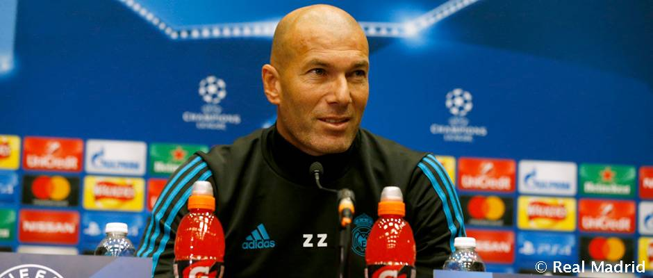 """Rueda de prensa de Zidane Zidane: """"Wembley es un buen escenario para hacer un gran partido"""""""