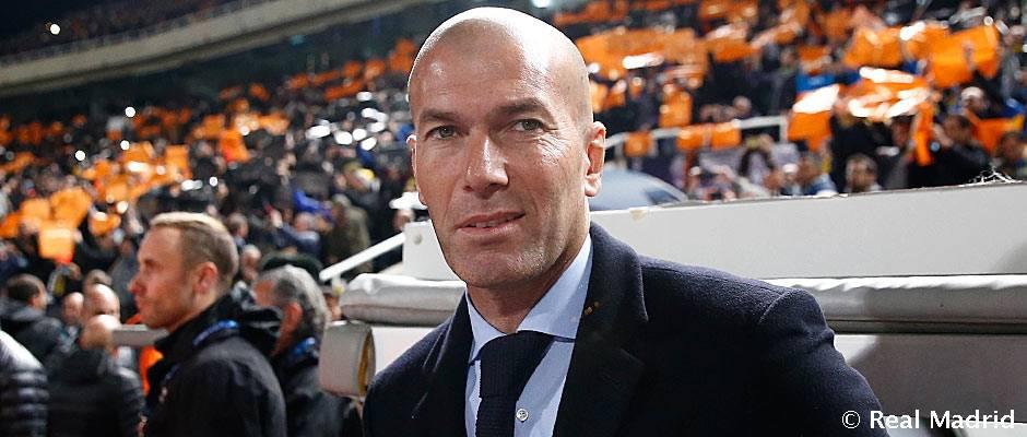 """Zidane: """"Estamos en el buen camino y haciendo las cosas bien"""""""