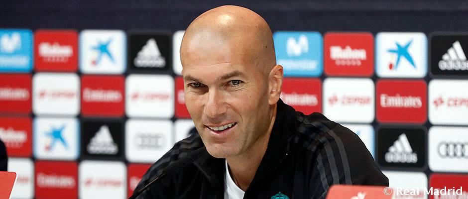 """Zidane: """"Queremos volver a ganar y cambiar ya esta dinámica"""""""