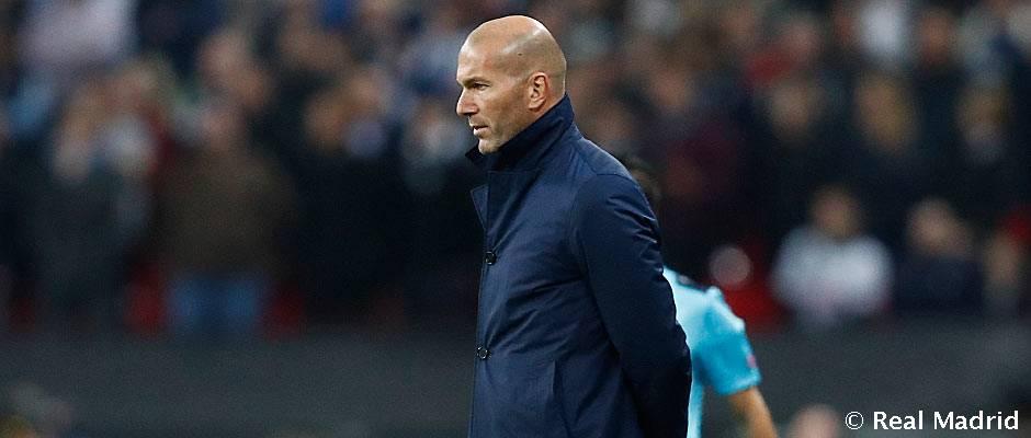 """Zidane: """"Tenemos un equipo con experiencia, son campeones, y vamos a cambiar esto"""""""