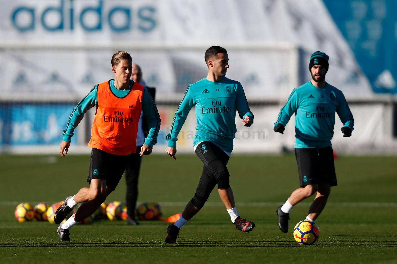 El Real Madrid comenzó a preparar el Clásico