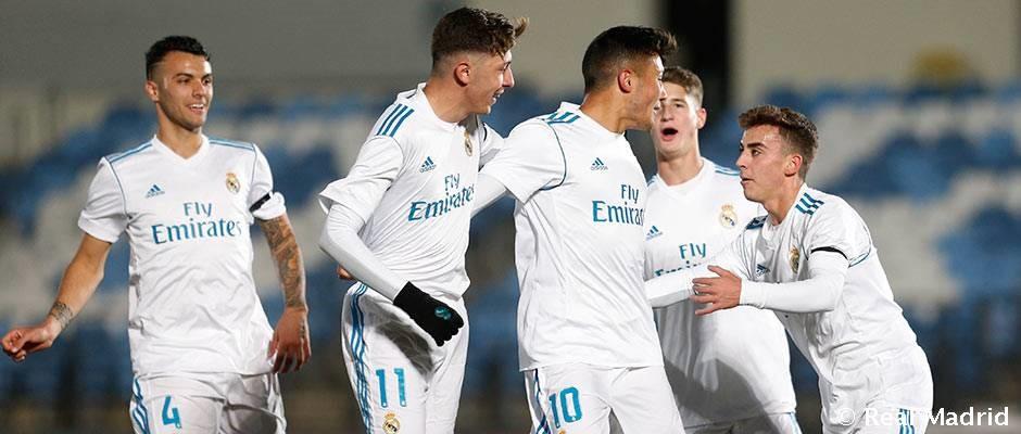 El Juvenil A vence al Dortmund y logra el pase en la Youth League