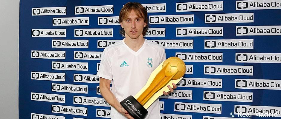 Modric, MVP de la semifinal