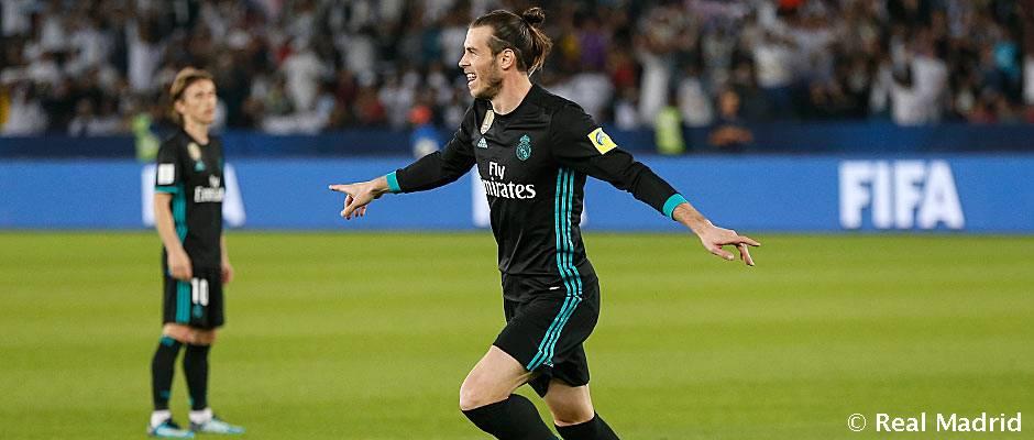 Bale, pleno goleador en el Mundial de Clubes
