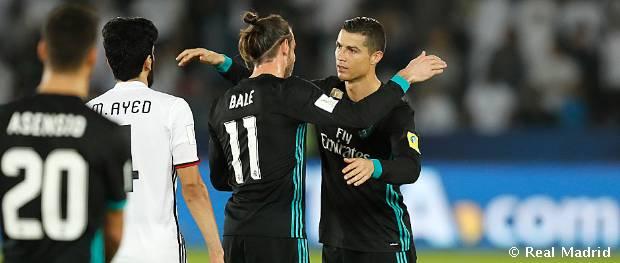 1-2: Los goles de Ronaldo y Bale dan el pase a la final del Mundial de Clubes