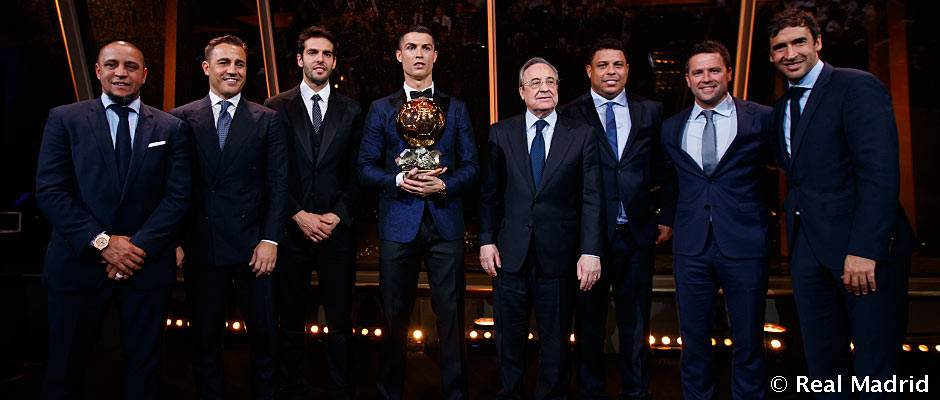 Los Balones de Oro del Real Madrid