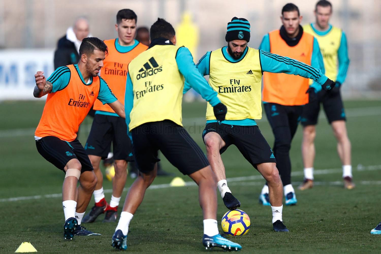 El Real Madrid sigue preparando el partido contra el Barcelona