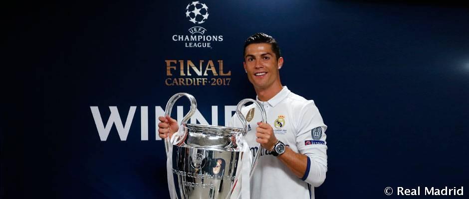 Cristiano Ronaldo, elegido el mejor deportista europeo de 2017