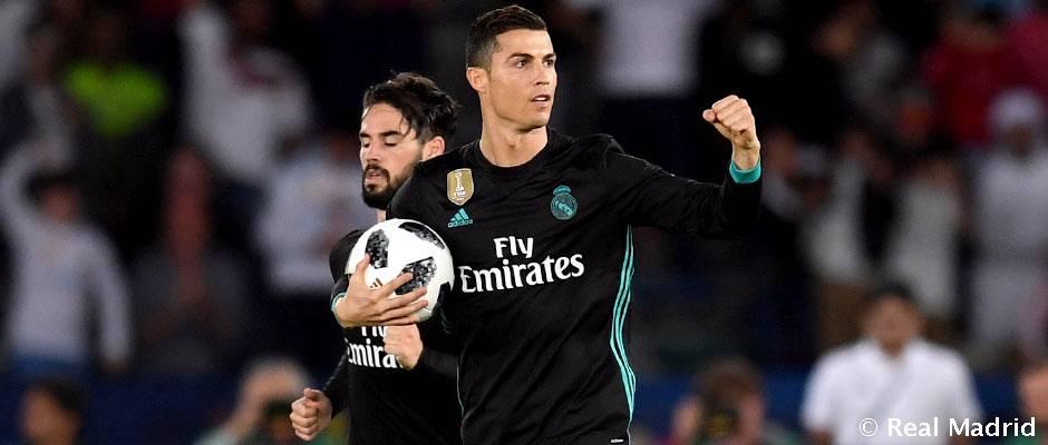 Cristiano Ronaldo, máximo goleador de la historia del Mundial de Clubes