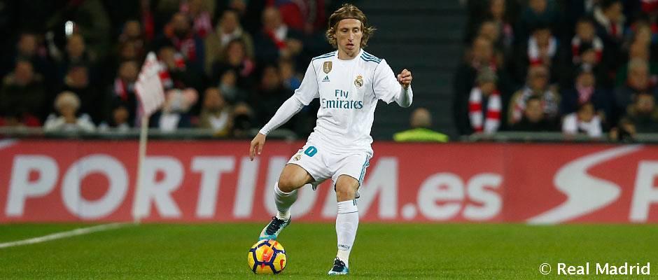 Modric, 150 partidos de Liga con el Real Madrid