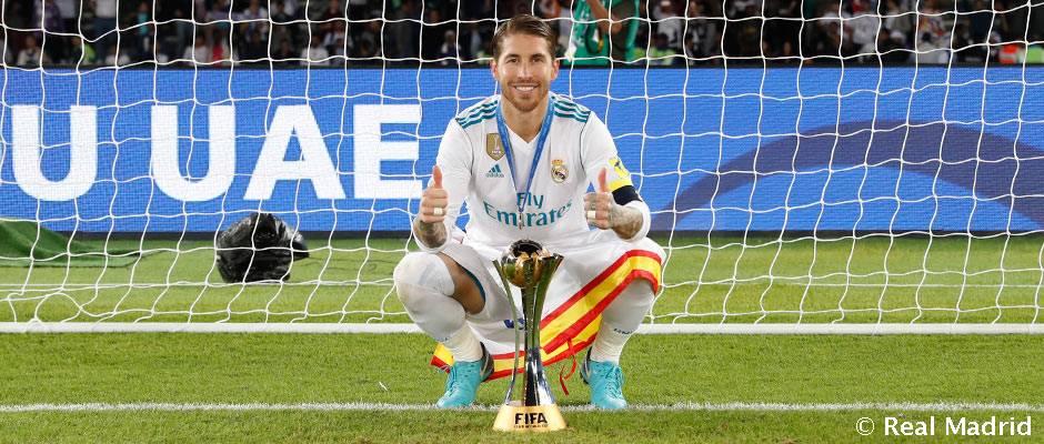 """Ramos: """"Afrontamos en buen momento el Clásico tras haber ganado el Mundial de Clubes"""""""