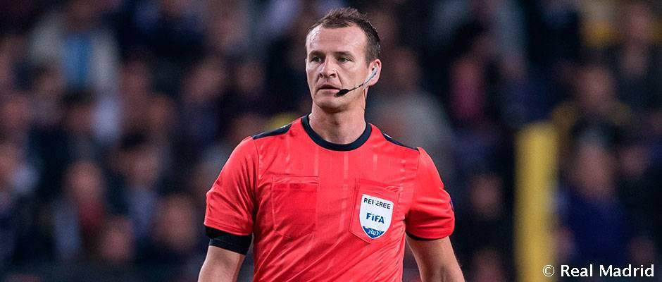 Pavel Kralovec arbitrará el Real Madrid-Borussia Dortmund