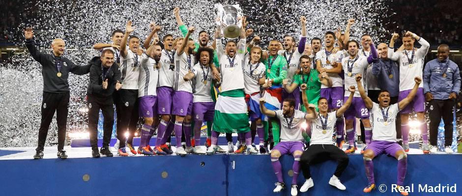 El Real Madrid cierra 2017 liderando el ranking UEFA
