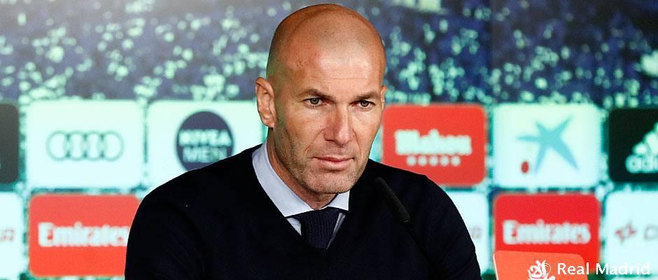 """Zidane: """"Vamos a volver más fuertes que nunca"""""""