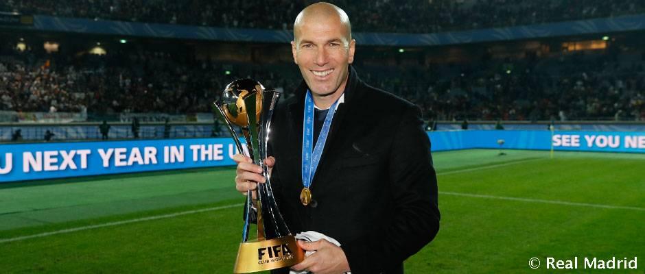 """Zidane: """"No será fácil pero tenemos la ilusión de volver a casa con el título"""""""