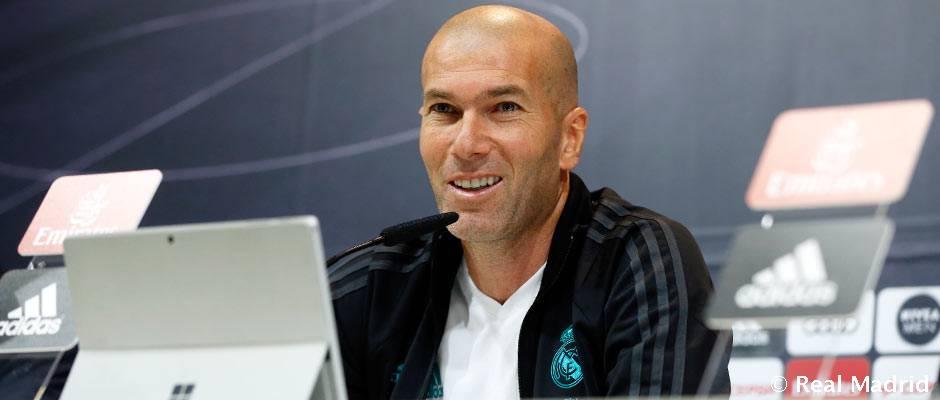 """Zidane: """"El partido frente al Sevilla es importante y necesitamos al Bernabéu hasta el final"""""""