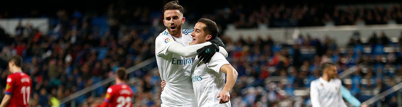 2-2: Doblete de Lucas Vázquez para certificar el pase a cuartos de la Copa