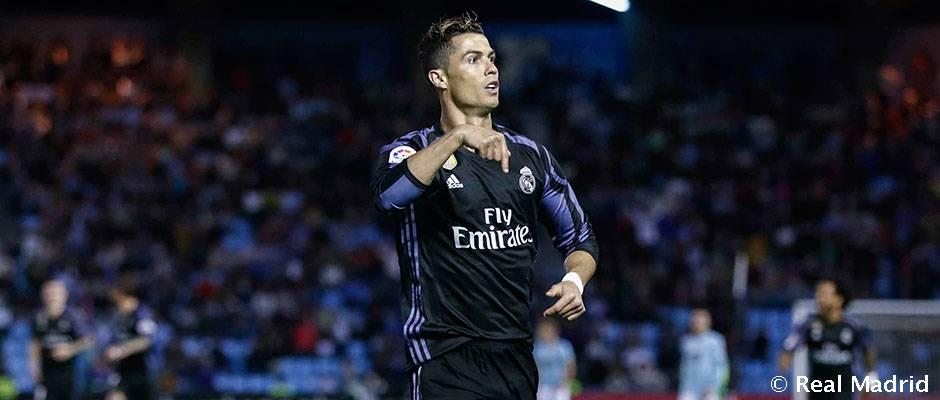 Celta – Real Madrid Cristiano Ronaldo promedia más de un tanto por partido en Balaídos
