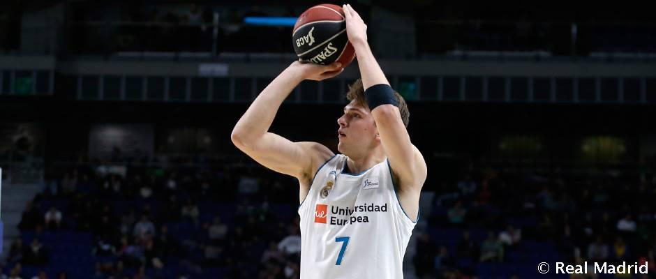 Doncic, MVP de diciembre en la Liga