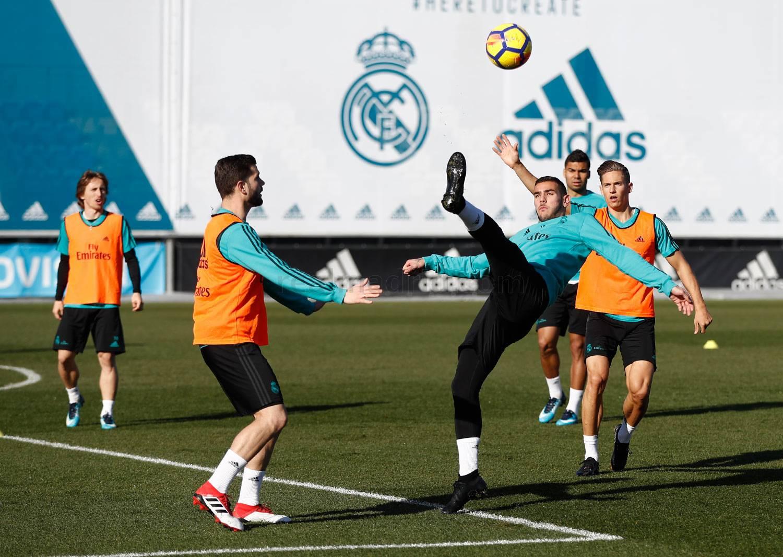 Segunda sesión de la semana en la Ciudad Real Madrid